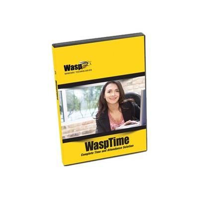 WaspTime Enterprise Biometric Solution (v. 7) - box pack (upgrade) - 5 administrators, 100 employees  CROM