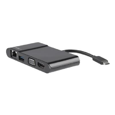 USB TYPE-C LAPTOP TRAVEL-ADAPT ER HDMI OR VGA - GBE
