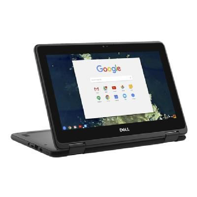 "Dell Chromebook 5190 2-in-1 - 11.6"" - Celeron N3350 - 4 GB RAM - 32 GB SSD  SYST"