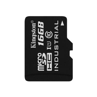 Kingston - flash memory card - 16 GB - microSDHC UHS-I l Temp Card Single Pack w/o Ad apter