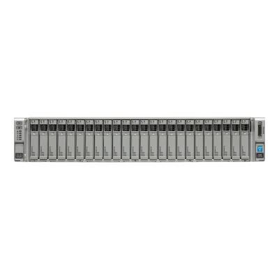 Cisco UCS SmartPlay Select C240 M4SX Advanced 1 (Not sold Standalone ) - Montable sur rack - Xeon E5-2680V3 2.5 GHz - 256 Go - aucun disque dur dv1w/2xE52680v3 8x32GB VIC1227