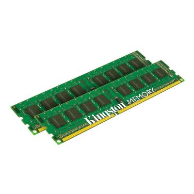 Kingston ValueRAM - DDR3L - 16 GB: 2 x 8 GB - DIMM 240-pin - unbuffered 1 1.35V K2
