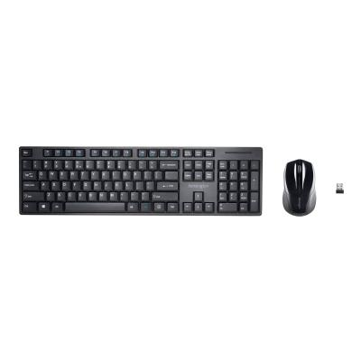Kensington Pro Fit Low-Profile - keyboard and mouse set