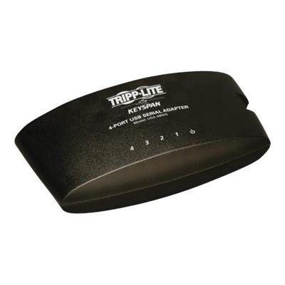 Tripp Lite Keyspan High Speed 4 Port USB to DB9 Serial Adapter Hub - serial adapter - USB - RS-232 x 4 2 Serial DB9 to USB Adapter Hu b