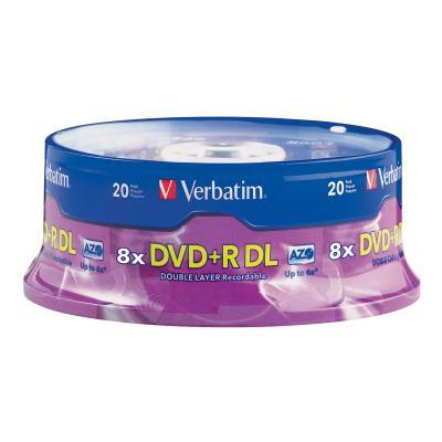 Verbatim - DVD+R DL x 20 - 8.5 GB - storage media 8.5GB