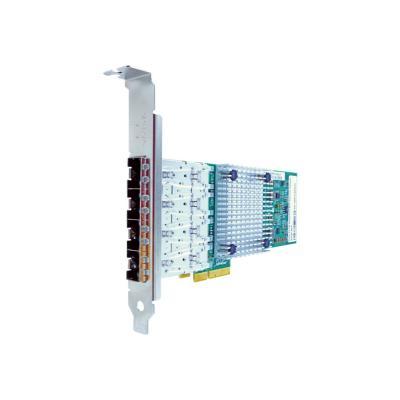 Axiom - network adapter - PCIe 2.1 x4 - Gigabit SFP x 4 x4 NIC Card - PCIE-4SFP-AX