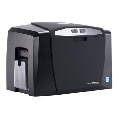 Fargo DTC 1000M - plastic card printer - thermal resin inter with Ethernet and Intern al Print Server  plu