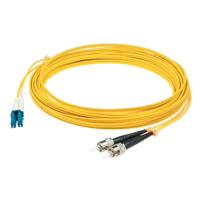 AddOn 15m LC to ST OS1 Yellow Patch Cable - patch cable - 15 m - yellow  CABL