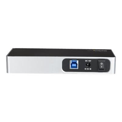 StarTech.com USB C Hub - 7 Port - USB-C to 5x USB-A and 2x USB-C - Charging Station - Powered USB Hub - USB Port Hub - USB Type C Hub (HB30C5A2CSC) - hub - 7 ports (Australia, Japan, New Zealand, United Kingdom, Europe, North Asia) & A - USB 3.0 HUB