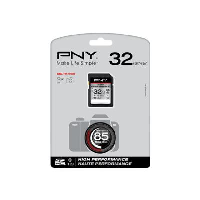 PNY High Performance - flash memory card - 32 GB - SDHC UHS-I  FLSH