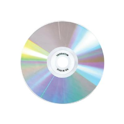 Verbatim DataLifePlus Shiny Silver - DVD-R x 50 - 4.7 GB - storage media  - DVD-R x 50 - 4.7 GB - stora ge media