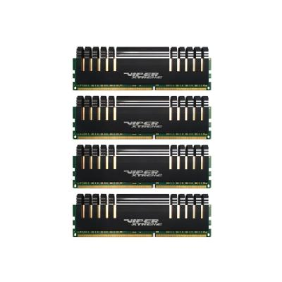 Patriot Extreme Performance Low Latency Kit Viper Xtreme Series - DDR4 - 16 GB: 4 x 4 GB - DIMM 288-pin