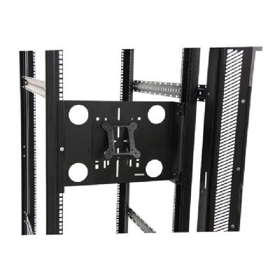 StarTech.com Universal Swivel VESA LCD Mounting Bracket for 19in Home Server Rack or Cabinet (RKLCDBKT) - mounting kit - for LCD display