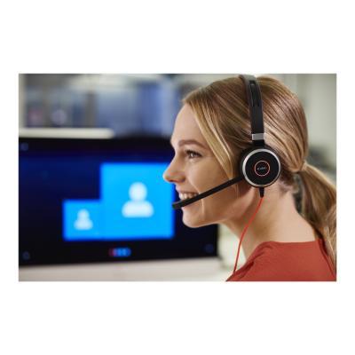 Jabra Evolve 40 UC stereo - headset STEREO - HEADSET
