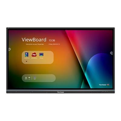 "ViewSonic ViewBoard IFP7550 Interactive Flat Panel 75"" LED-backlit LCD display - 4K P 4K HDMI"