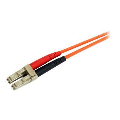 StarTech.com 2m Fiber Optic Cable - Multimode Duplex 62.5/125 - LSZH - LC/ST - OM1 - LC to ST Fiber Patch Cable (FIBLCST2) - network cable - 2 m  CABL