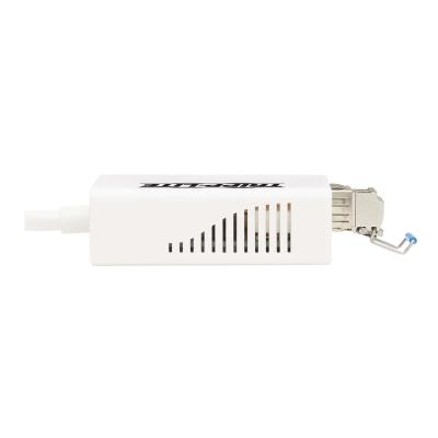 Tripp Lite USB 3.0 Singlemode Fiber Optic Transceiver Ethernet Adapter, 10/100/1000 Mbps, 1310nm, 5km, LC - network adapter  Transceiver Ethernet Adapter  10/100/1000 Mbps  1