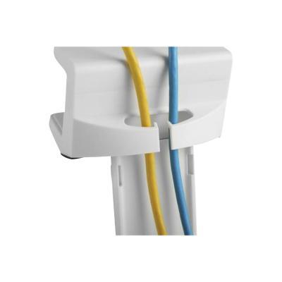 Tripp Lite Clamp-On Power Strip Holder, White power strip holder  ACCS