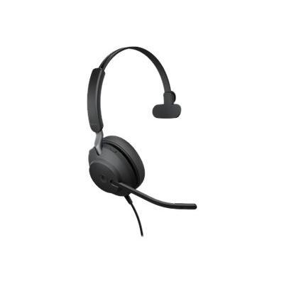 Jabra Evolve2 40 MS Mono - headset  ACCS