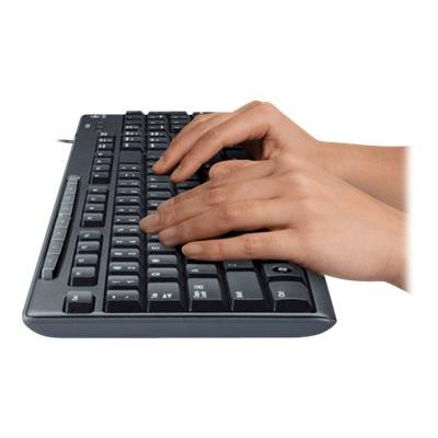 Logitech Media Combo MK200 - keyboard and mouse set - English  ACCS