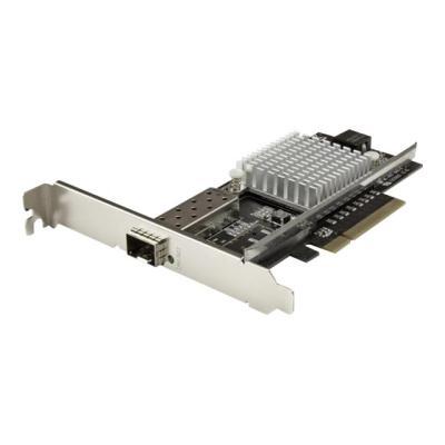 StarTech.com 10G Network Card - 1x 10G Open SFP+ Multimode LC Fiber Connector - Intel 82599 Chip - Gigabit Ethernet Card (PEX10000SRI) - network adapter - PCIe x8  CTLR