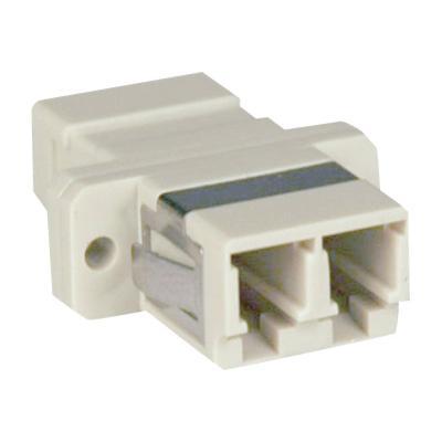 Tripp Lite Duplex Fiber Optic MMF / SMF Multimode Singlemode Coupler LC/LC - network coupler  ADAP