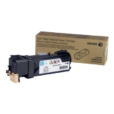 Xerox Phaser 6128MFP - cyan - original - toner cartridge pages - Phaser 6128MFP er 6128MFP