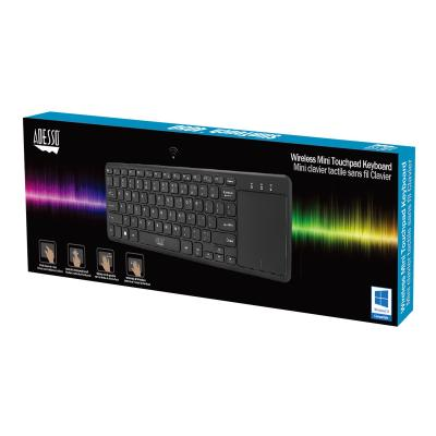 Adesso SlimTouch 4050 - keyboard - with touchpad - US