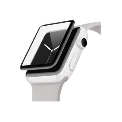 Belkin ScreenForce UltraCurve - screen protector for smart watch  Protection (Apple Watch Serie s 3/2  42mm)  Water