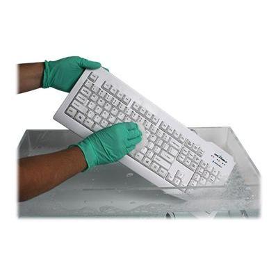Seal Shield Silver Seal Waterproof - keyboard - US - white WATERPROOF - KEYBOARD  WHITE USB WIRED  US ENGLISH