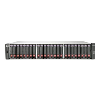 HPE Modular Smart Array 2040 SAN Dual Controller SFF Storage - hard drive array  PERP