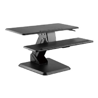 Amer Mounts Ezped32 - standing desk converter on. Allows for height adjustme nt of a keyboard  mo