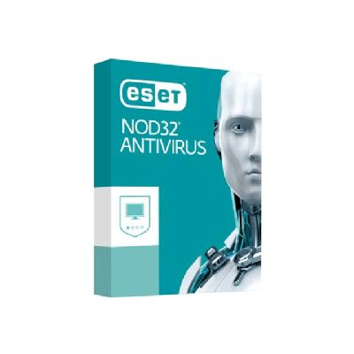 NOD32 Antivirus Home Edition - subscription license (1 year) - 1 PC  LICS