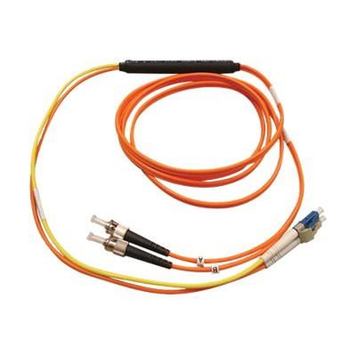 Tripp Lite 3M Fiber Optic Mode Conditioning Patch Cable ST/LC 10' 10ft 3 Meter - mode conditioning cable - 3 m - yellow, orange Patch Cable (ST/LC)  3M (10-ft .)