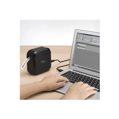 Brother P-Touch Cube Plus PT-P710BT - label printer - B/W - thermal transfer