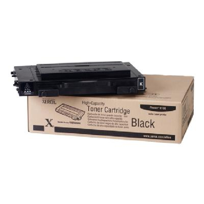 Xerox High-Capacity Phaser 6100 - High Capacity - black - original - toner cartridge o 7000 pages - Phaser 6100 ges at 5% coverage