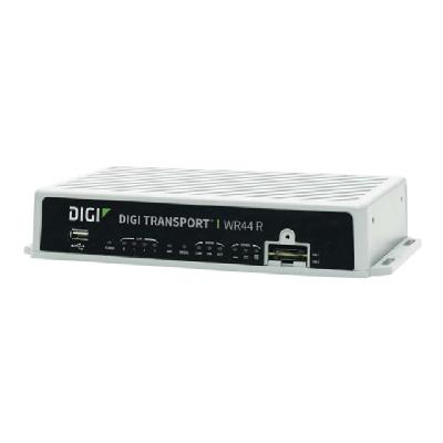 Digi TransPort WR44 R - wireless router - WWAN - 802.11a/b/g/n/ac - desktop (North America, EMEA)   RUGGED