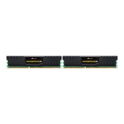 CORSAIR Vengeance - DDR3L - 16 GB: 2 x 8 GB - DIMM 240-pin - unbuffered   Unbuffered  9-9-9-24  Vengea nce Black Low Profil