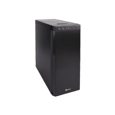 CORSAIR Carbide Series 330R Ultra-Silent - Blackout Edition - tower - ATX dition Mid Tower Case  2xFront  USB3.0  Supports Mi