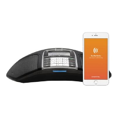 Konftel 300IPx - conference VoIP phone tart or join a meeting. With t he Konftel 300IPx an