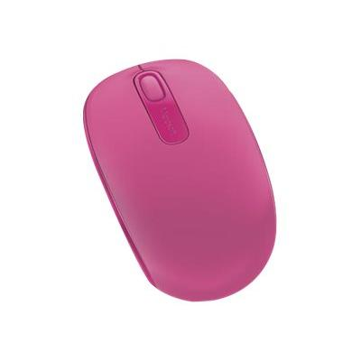 Microsoft Wireless Mobile Mouse 1850 - mouse - 2.4 GHz - magenta  WRLS
