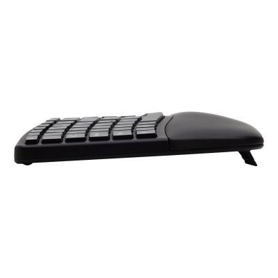 Kensington Pro Fit Ergo Wireless Keyboard - keyboard - US - black -BLACK
