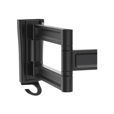 StarTech.com Monitor Wall Mount - Dual Swivel - Supports 13'' to 34'' Monitors - VESA Monitor / TV Wall Mount - Wall Mount Swivel Monitor Arm - Black (ARMWALLDS) - mounting kit - for LCD display (adjustable arm) ur monitor and maximize viewin g w/ the swiveling e