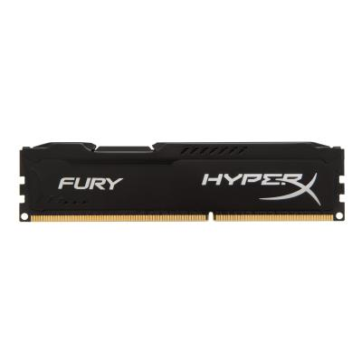 HyperX FURY - DDR3 - 8 GB: 2 x 4 GB - DIMM 240-pin - unbuffered DDR3  1600MHz  CL10  1.5V  240 -pin DIMM  kit of 2