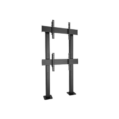 Chief Fusion 1 X 2 Micro-Adjustable Large Bolt-Down Freestanding Video Wall - mounting kit Large Bolt-Down Freestanding V ideo Wall