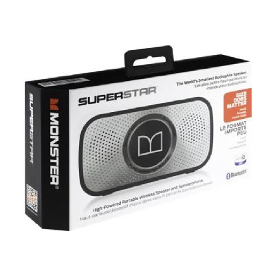 Monster Cable Superstar - speaker - for portable use - wireless Y