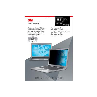 """3M Privacy Filter for 11.6"""" Laptops 16:9 with COMPLY notebook privacy filter RACCS"""