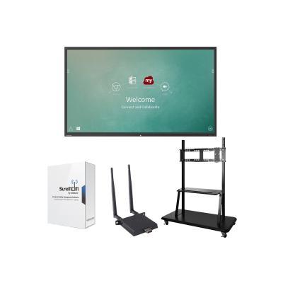 "ViewSonic ViewBoard IFP9850 Device Management Bundle 2 98"" Class (97.5"" viewable) LED display - 4K -072"