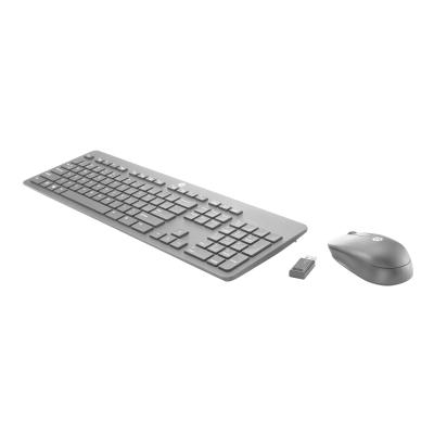 HP Slim - keyboard and mouse set - US (English)