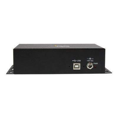 StarTech.com 8 Port USB to Serial RS232 Adapter - Wall Mount - Din Rail - COM Port Retention - FTDI USB to DB9 RS232 Hub (ICUSB2328I) - serial adapter - USB 2.0 - RS-232 x 8 232 SERIAL ADAPTER
